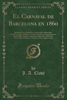 El Carnaval de Barcelona en 1860