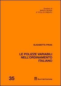Le polizze variabili nell'ordinamento italiano