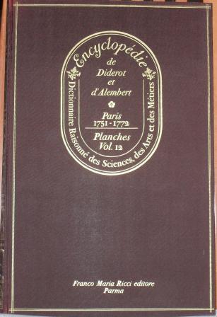 Encyclopédie, Tome XII