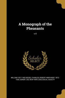 MONOGRAPH OF THE PHEASANTS V4