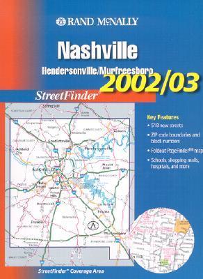 Rand McNally 2002-03 Nashville/Hendersonville/Murfreesboro Streetfinder