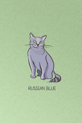 Russian Blue Cat Notebook