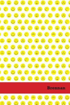 Etchbooks Brennan, Emoji, Wide Rule