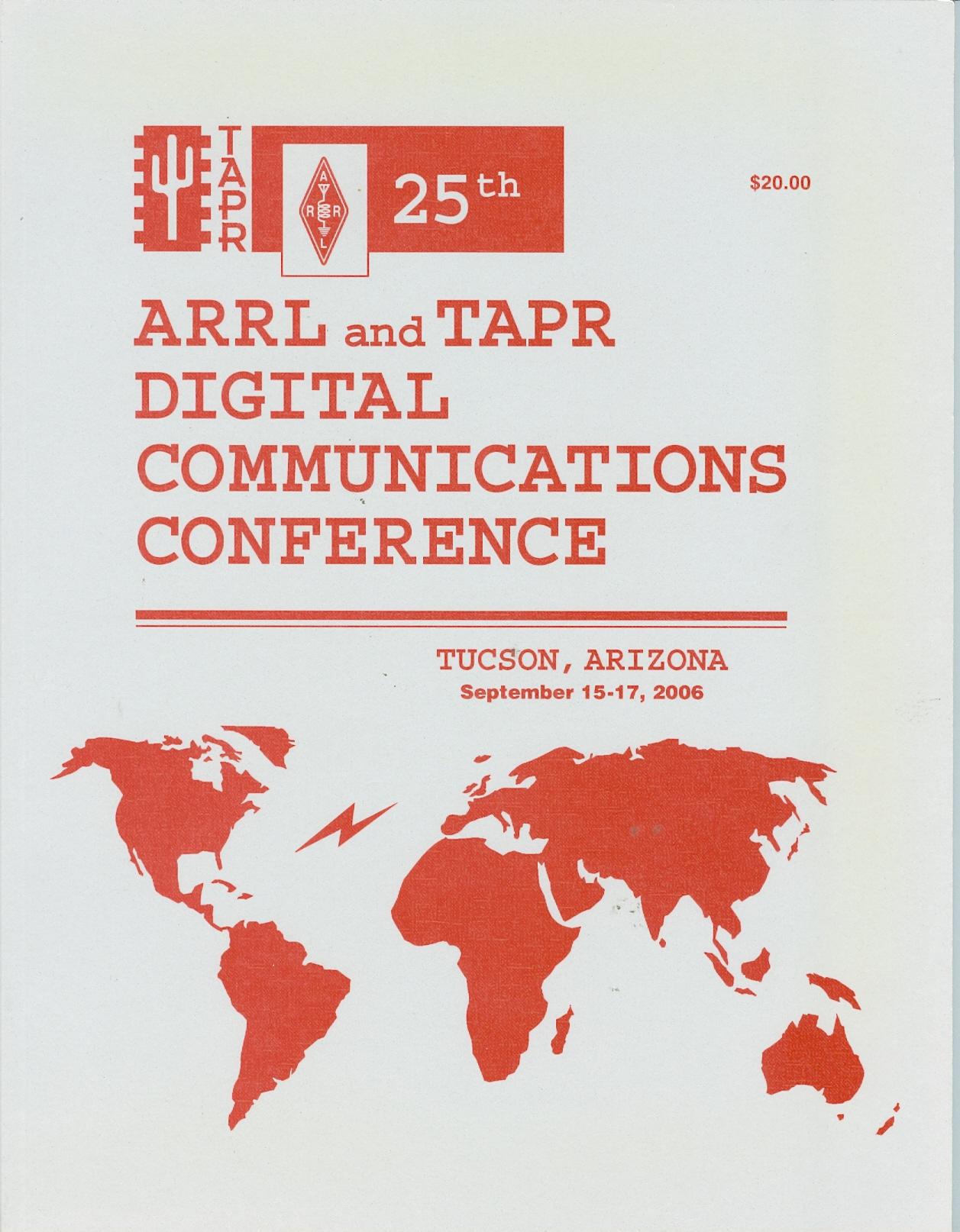 25th ARRL & TAPR Digital Communications Conference