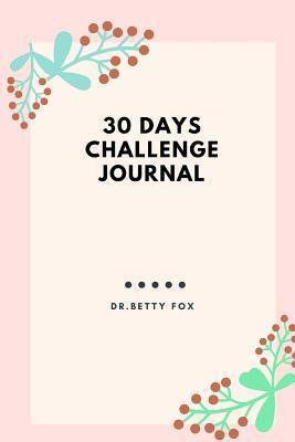 30 Days Challenge Journal