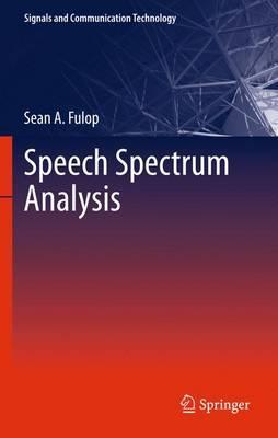 Speech Spectrum Analysis