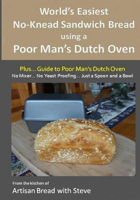 World's Easiest No-knead Sandwich Bread Using a Poor Man's Dutch Oven