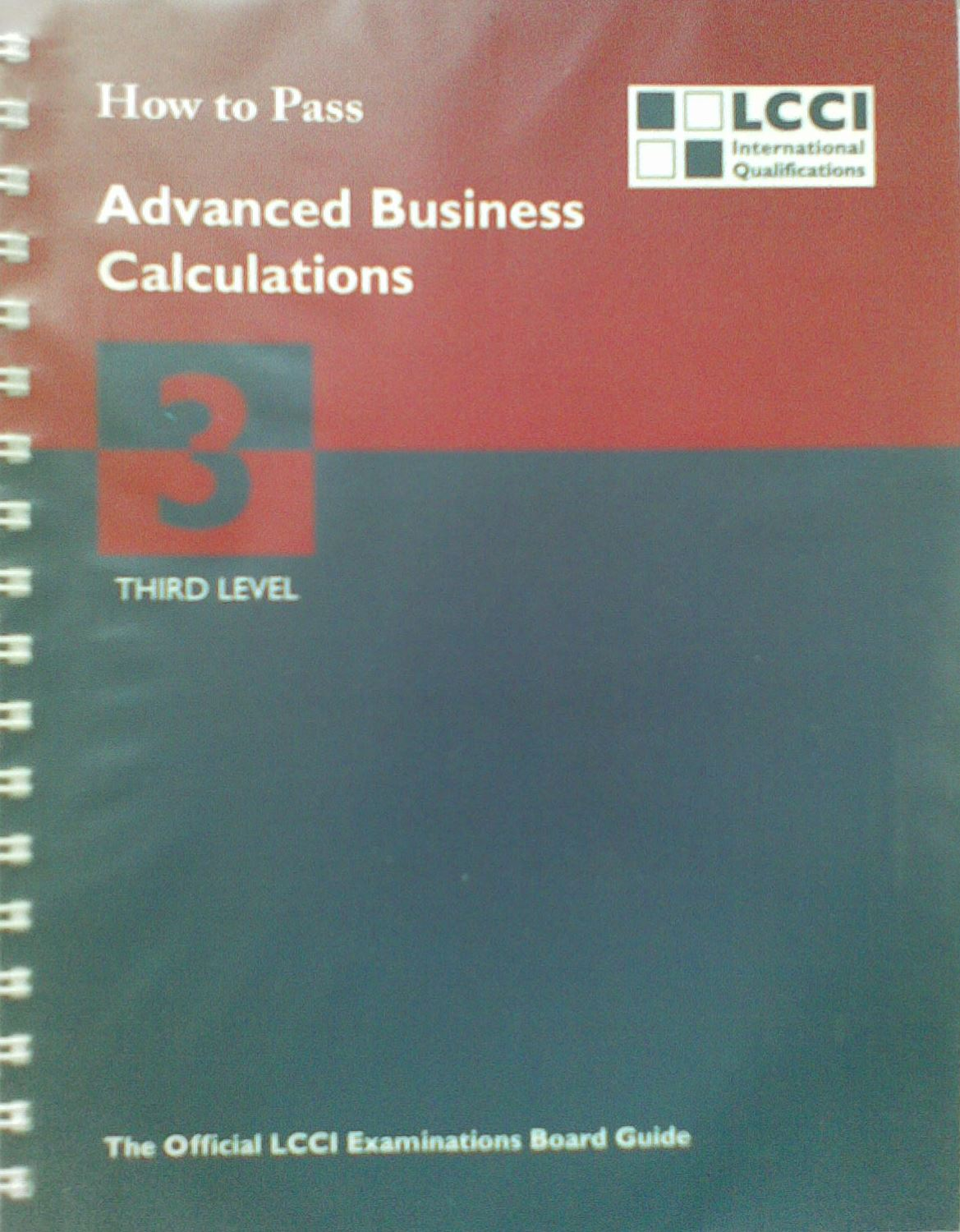 How to pass advanced business calculations