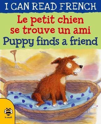 Le petit chien se trouve un ami / Puppy finds a friend
