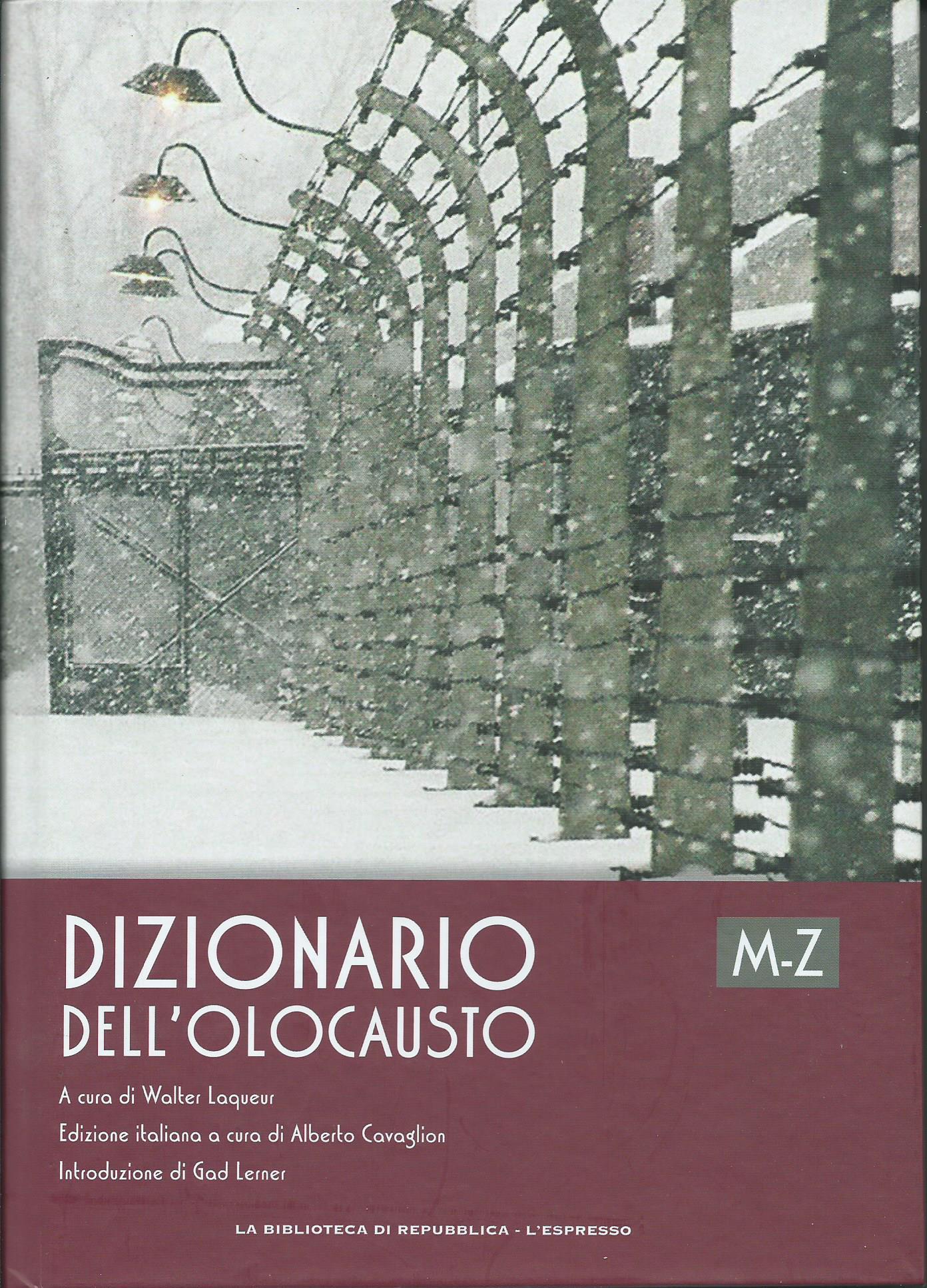 Dizionario dell'Olocausto M-Z