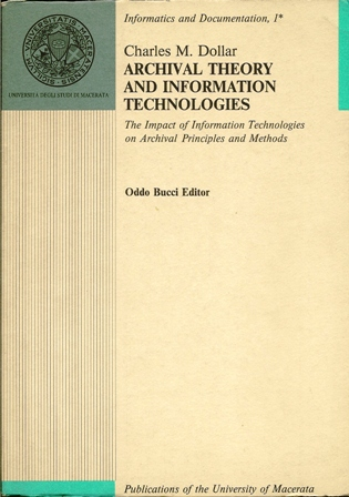 Archival theory and information technologies