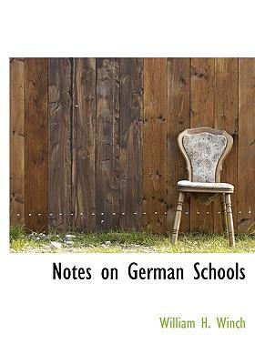 Notes on German Schools