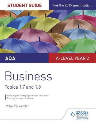 AQA A-level Business Student Guide 3