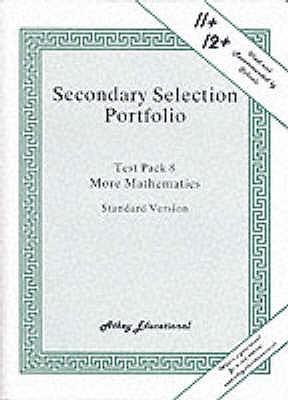 Secondary Selection Portfolio