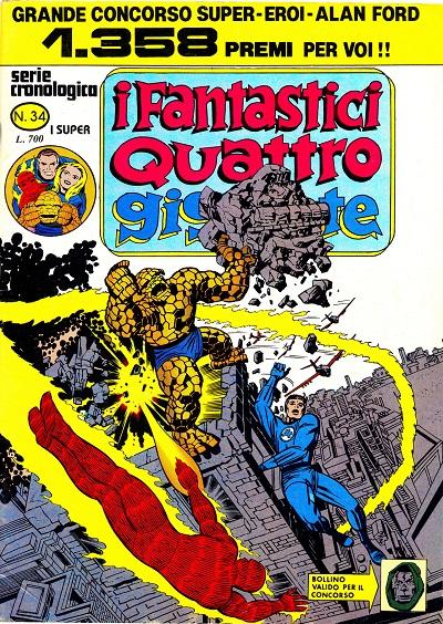 I Fantastici Quattro Gigante n. 34