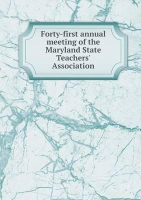 Forty-First Annual M...