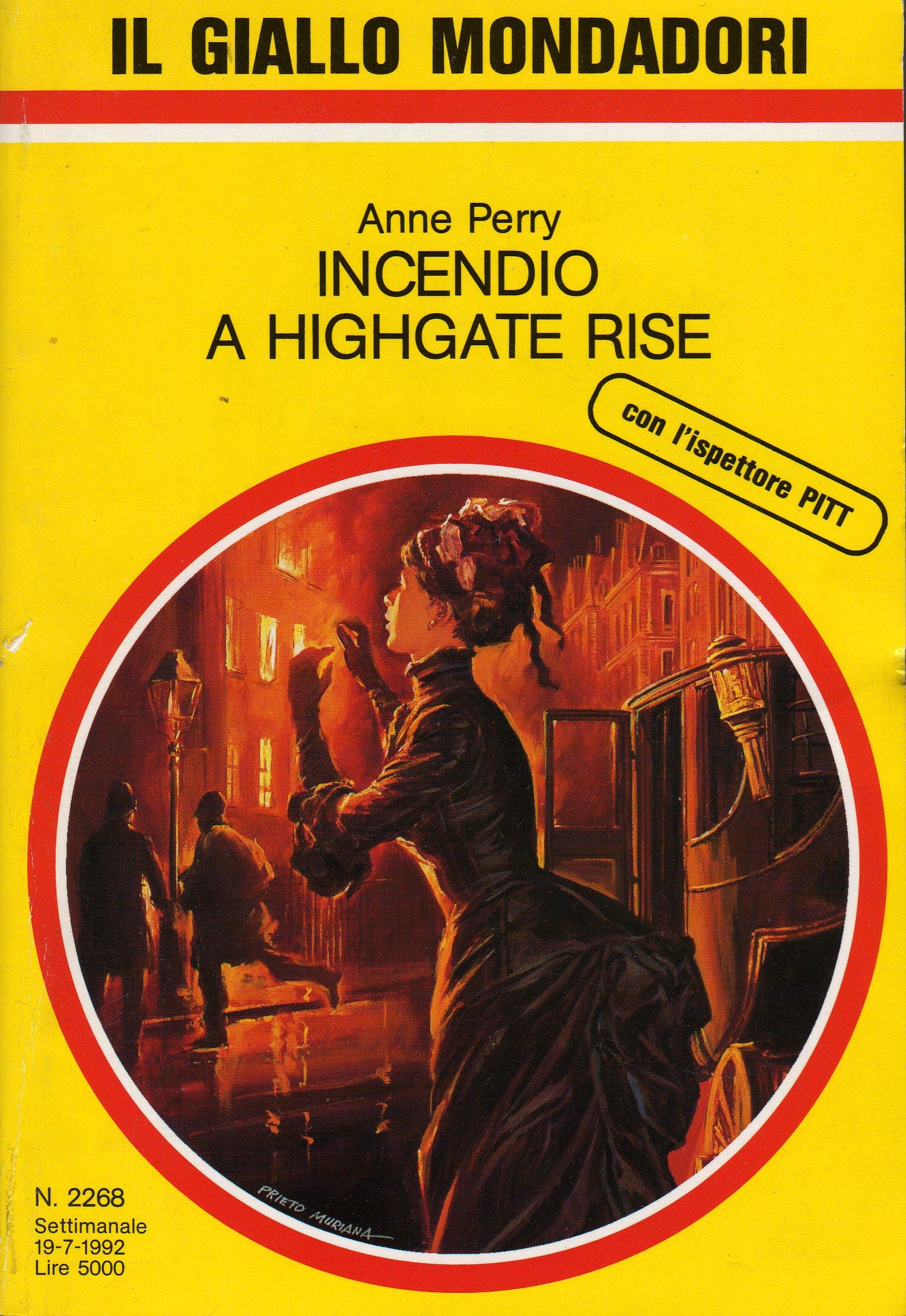 Incendio a Highgate ...