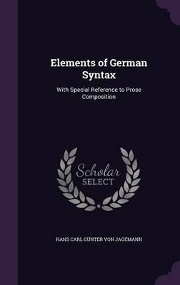 Elements of German S...