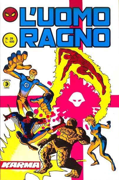 L'Uomo Ragno (2a serie) n. 29