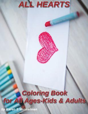All Hearts Coloring Book
