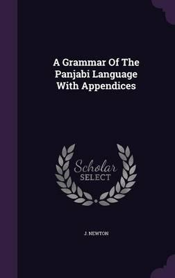 A Grammar of the Panjabi Language with Appendices