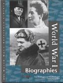 World War One biographies
