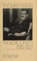 Tagebücher 1918 -1921