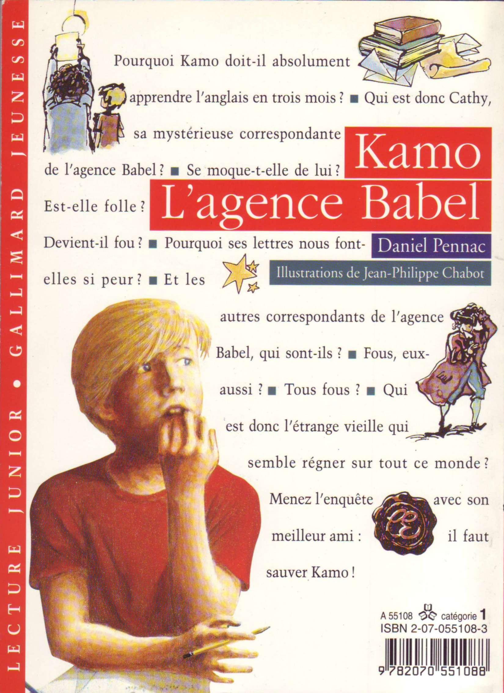 Kamo - L'agence Babel
