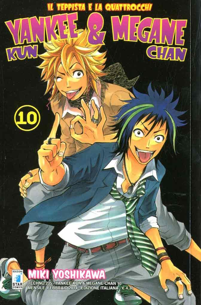 Yankee-Kun & Megane-Chan vol. 10