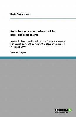 Headline as a persuasive tool in publicistic discourse