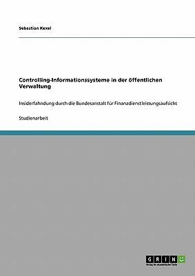 Controlling-Informationssysteme in der öffentlichen Verwaltung