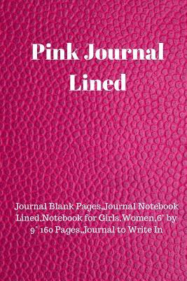 Pink Journal Lined