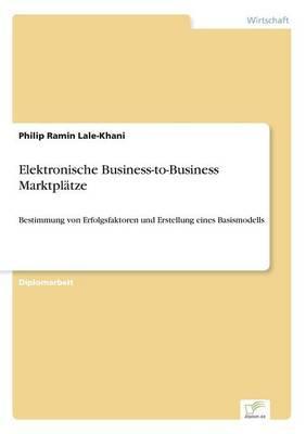 Elektronische Business-to-Business Marktplätze