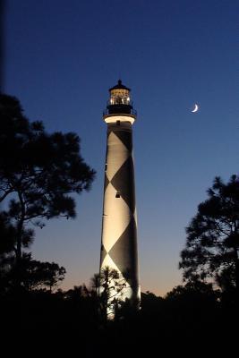 Lighthouse at Night ...