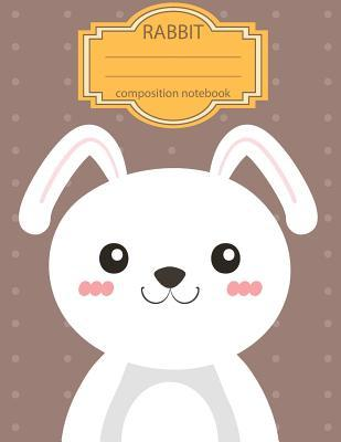 Composition Notebook Rabbit