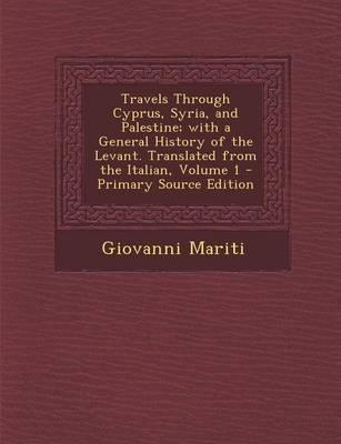 Travels Through Cypr...