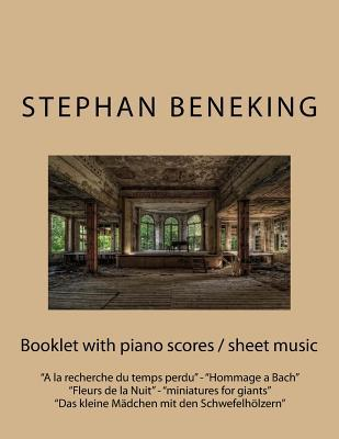 Stephan Beneking - Booklet With Piano Scores