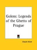 Golem: Legends of the Ghetto of Prague