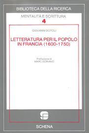 Letteratura per il popolo in Francia (1600-1750)