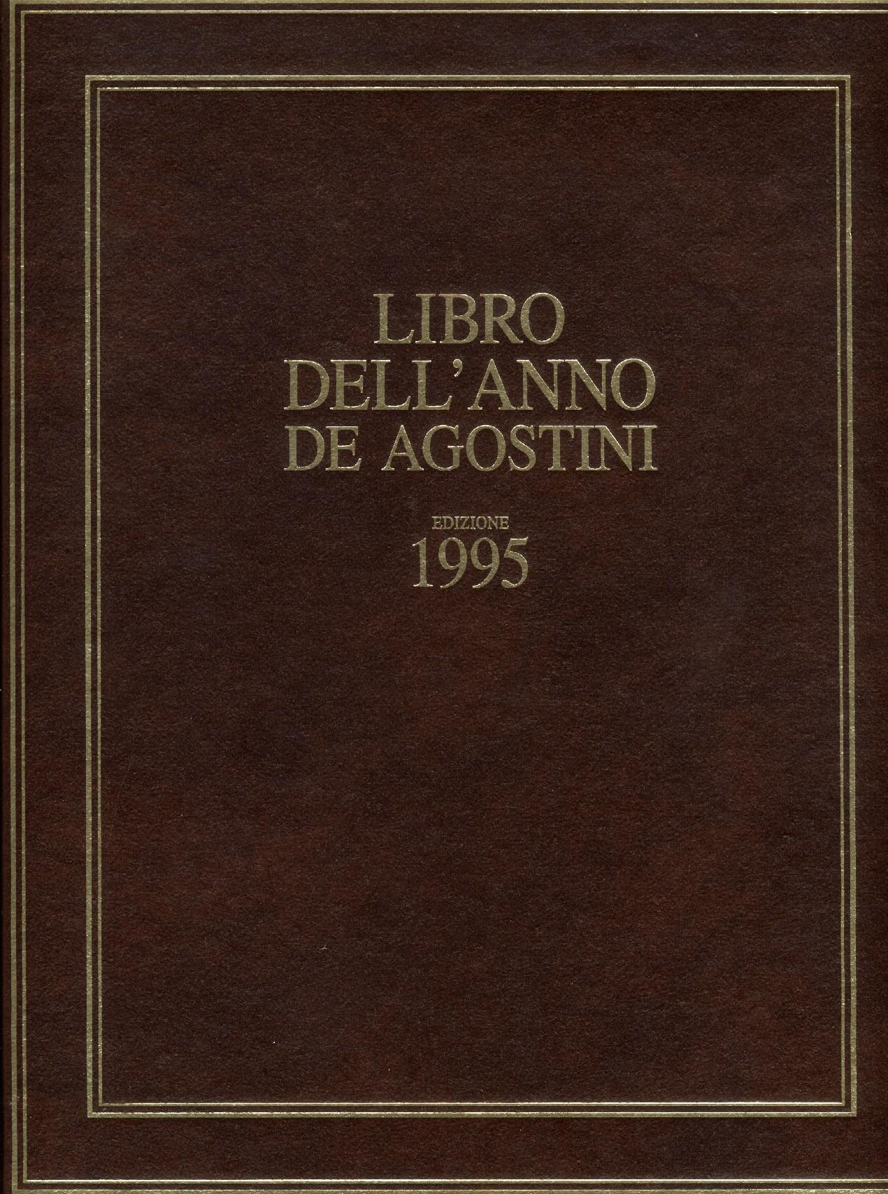 Libro dell'anno De Agostini Edizione 1995