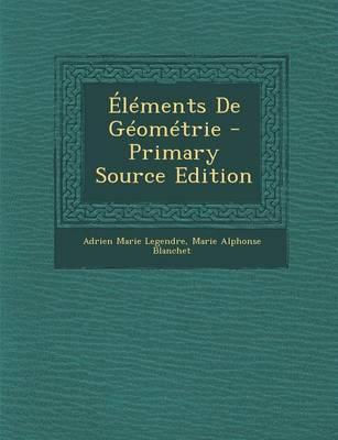 Elements de Geometrie