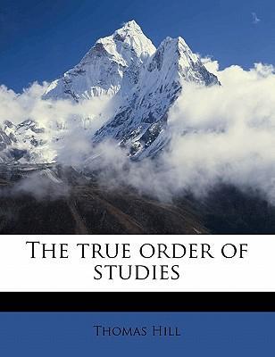 The True Order of Studies