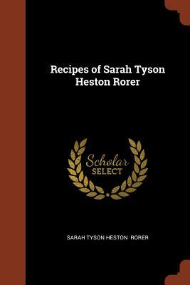 Recipes of Sarah Tys...
