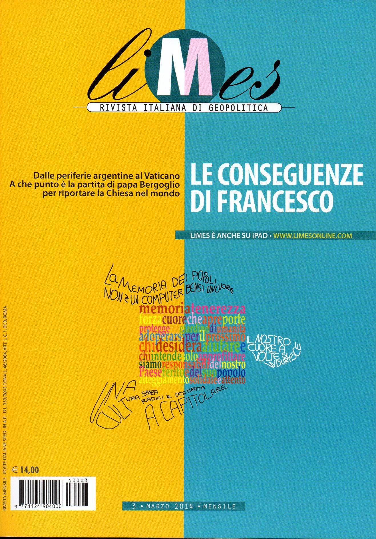 Limes. Rivista italiana di geopolitica n. 3 (Marzo 2014)