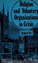 Religion and Voluntary Organisations in Crisis
