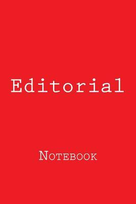 Editorial Notebook