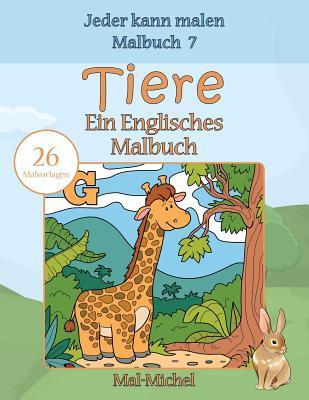 Tiere, Ein Englisches Malbuch