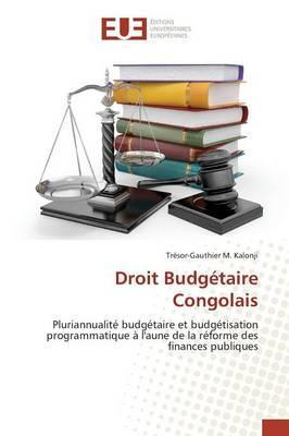 Droit Budgetaire Congolais