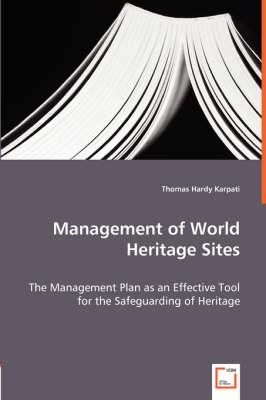 Management of World Heritage Sites