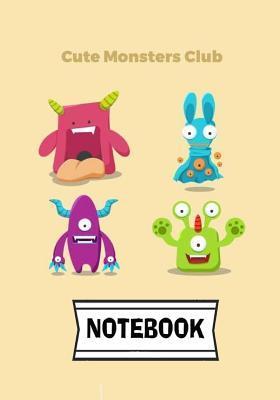 Cute Monster Notebook